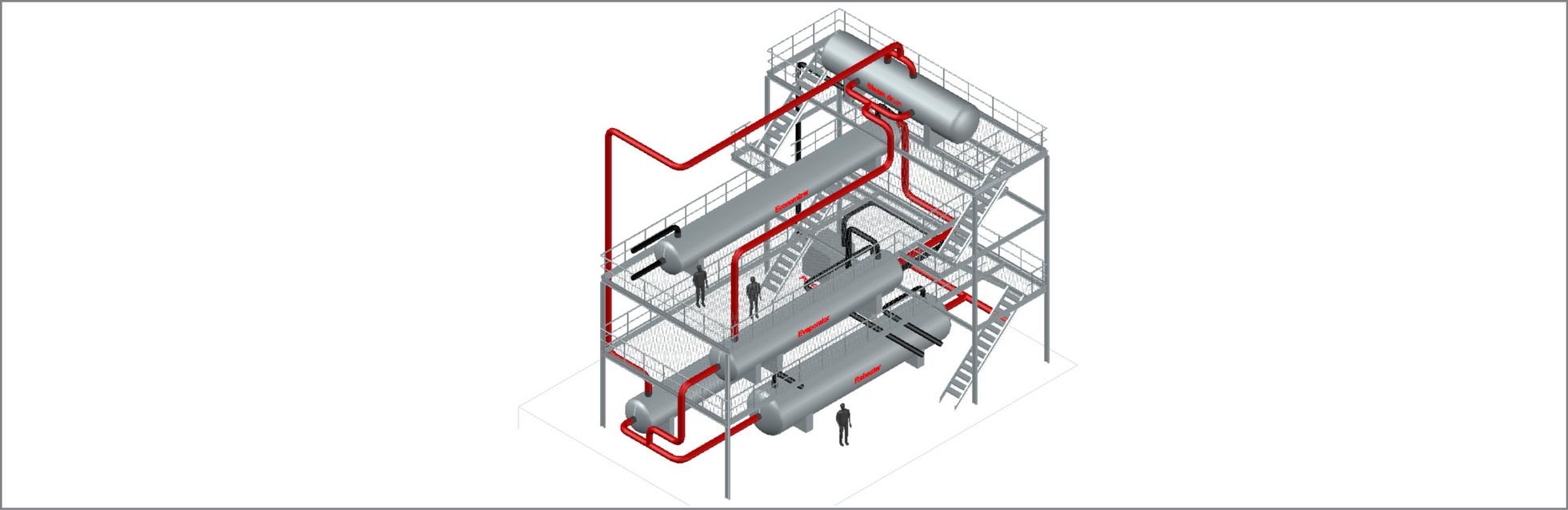 Sgs4 Steam Generator Molten Salt Power Plant General Layout Value Adding Engineering Design